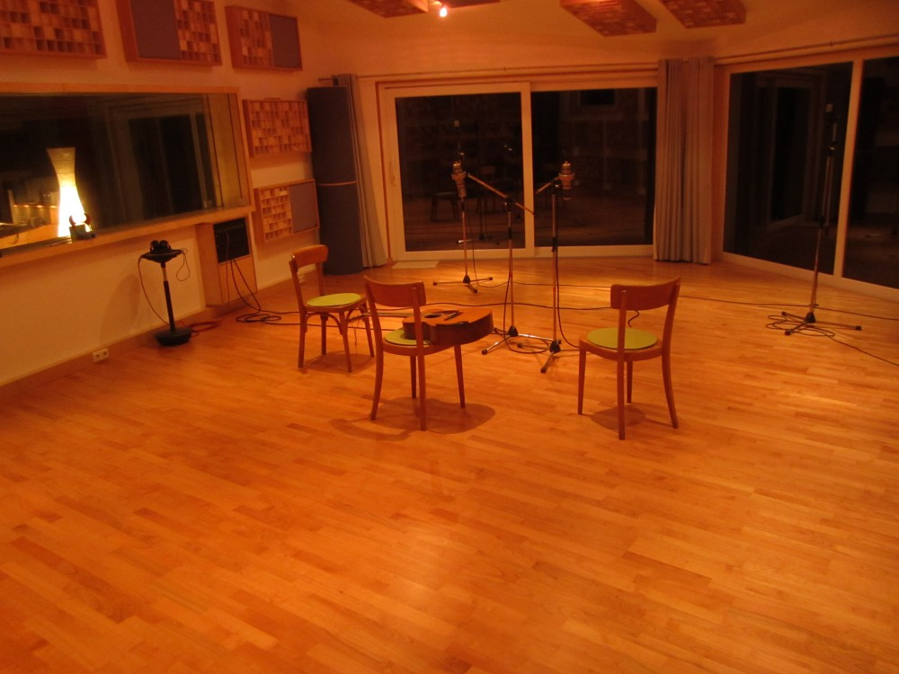 Recording Room by night